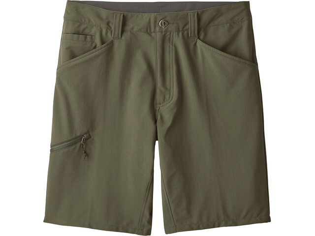 "Patagonia Quandary - Pantalones cortos Hombre - 10"" Oliva"